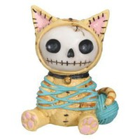 Furry Bones - Furry Bones Cat - Cold Cast Resin - 2.5&quot; Height