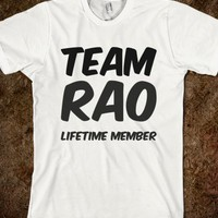 TEAM RAO LIFETIME MEMBER T SHIRT
