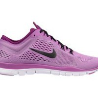 Nike Free TR 4 Women's Training Shoes - Red Violet