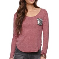 LA Hearts Print Pocket Top at PacSun.com
