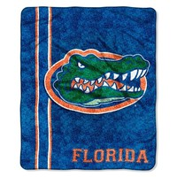 Florida Gators 50'' x 60'' Jersey Sherpa Throw Blanket