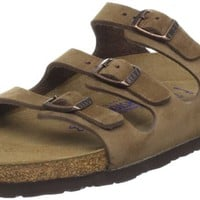 Birkenstock Florida Three Strap Sandal,Cocoa,40 EU/9 B(M) US Women / 7 D(M) US Men