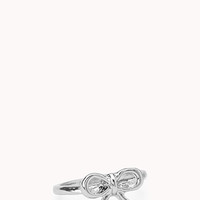 Simply Stated Bow Midi Ring