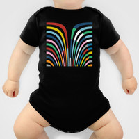 Rainbow Bricks Onesuit by Project M