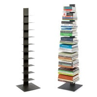 Vertical bookshelf