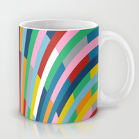 Rainbow Bricks Mug by Project M