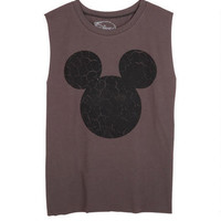 Cracked Mickey Muscle Tank