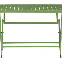 Foldaway Green Dining Table | Crate&Barrel