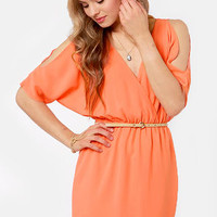 Melon of Troy Coral Dress