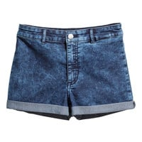 High-waisted Shorts - from H&M