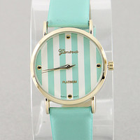 Krista Mint Watch from P.S. I Love You More Boutique