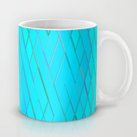 Re-Created Vertices No. 6 Mug by Robert S. Lee