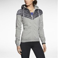 The Nike Printed Windrunner Women's Running Jacket.