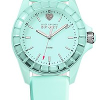 Juicy Couture 'Sport' Crystal Bezel Silicone Strap Watch, 40mm