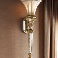 John-Richard Collection Fluted Wall Torch