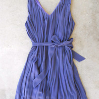 A Plethora of Pleats Dress in Lavender [5068] - $36.00 : Vintage Inspired Clothing & Affordable Dresses, deloom | Modern. Vintage. Crafted.