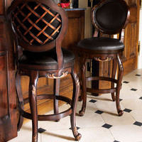 Crosshatch Stools