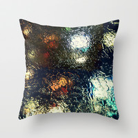 Blinded by the Night Throw Pillow by RDelean
