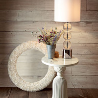Regina-Andrew Design Triple Crystal Orb Lamp