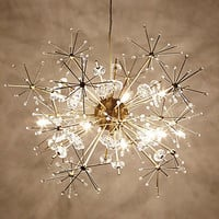 Dandelion Orbit Chandelier by Anthropologie Bronze One Size Lighting