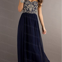 Elegant New Style Bead Strapless Prom/Evening Dresses