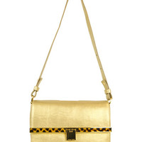 Handbags | Handbags | Kristin Metallic Faux Leather Shoulder Bag | Lord and Taylor