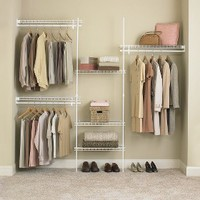 ClosetMaid SuperSlide® Closet Organizer Kit - White (5' to 8')