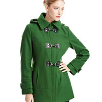 Women's Apparel | Up to 70% Off Clearance Coats | Toggle Clip Coat | Lord and Taylor
