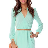Plus One 2 Dress in Mint :: tobi