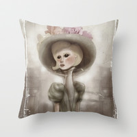 Bloom in the City Throw Pillow by Ben Geiger