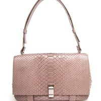 PROENZA SCHOULER | PS Courier Python Bag | Browns fashion & designer clothes & clothing