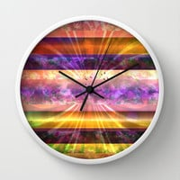 Freedom Wall Clock by SensualPatterns