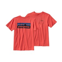 Patagonia Men's P-6 Logo Organic Cotton T-Shirt