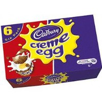 Cadbury Mini Creme Eggs, 12-Count Containers (Pack of 4)