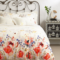 Garden Buzz Duvet by Anthropologie Multi