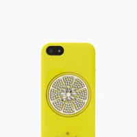 sparkle lemon iphone 5 case - kate spade new york