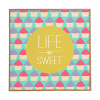 Allyson Johnson Life Is Sweet Framed Wall Art