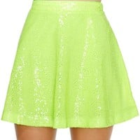 Nasty Gal Wild Child Sequin Skirt