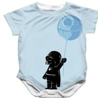Adorable Handmade Star Wars Darth Vader Onesuit - $25