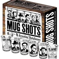 Mug Shots - Famous Gangster Shot Glasses - $25