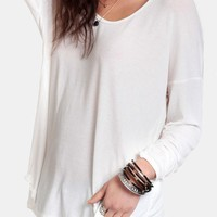 Keeping Cozy Oversized Top | Threadsence