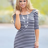 PIKO Girl Of Your Dreams Dress - Black/Taupe