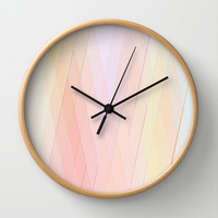 Re-Created Vertices No. 12 Wall Clock by Robert S. Lee