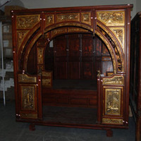Tansu.Net::Bedroom Furniture::Beds::Chinese Bed And Tea House