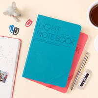 Light Grid Notebook