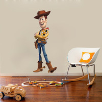 Woody Decal - Toy Story Wall Sticker Printed and Die-Cut Vinyl Apply in any Flat Surface- Toy Story Woody Decor