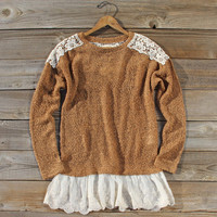 Tamarack Lace Sweater