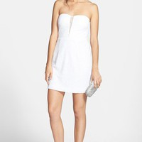 Hailey Logan Back Cutout Sequin Body-Con Dress (Juniors) | Nordstrom