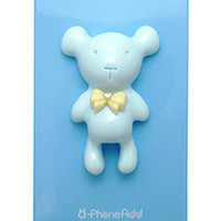 Alice Pastel Special Honey Bear Case for iPhone 4 / 4S - Blue