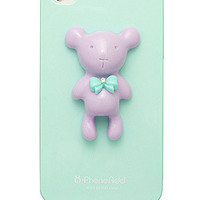 Alice Pastel Special Honey Bear Case for iPhone 4 / 4S - Mint Turquois